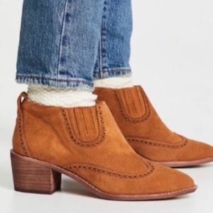 NWT Madewell The Grayson Brogue Chelsea Boots